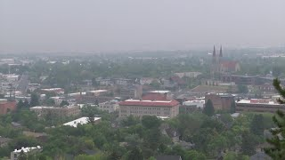 """Air quality across parts of Montana is now """"unhealthy"""""""