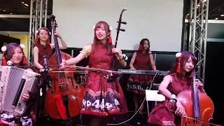 Annin Showcrestra「千本桜」@ JAPAN EXPO (8th July 2017)