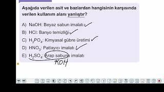 Eğitim Vadisi TYT Kimya 10.Föy Asit-Baz 2 Konu Anlatım Videoları
