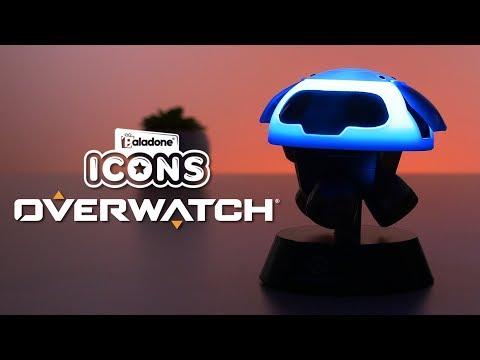 Mini Lampka Overwatch 3D - Snowball