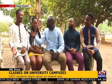 Clashes On University Campuses - AM Show on JoyNews (25-4-18)