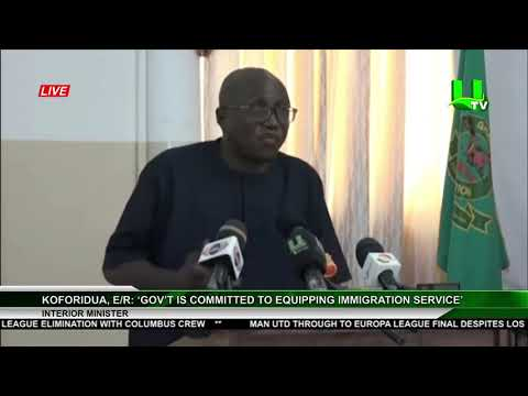 Gov't Is Committed To Equipping Immigration Service - Interior Minister