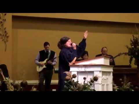 "Apostolic Pentecostal singing ""Praise His Name"" originally sung by Jeff and Sheri Easter"