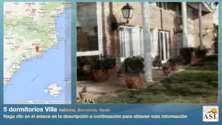 preview picture of video '5 dormitorios Villa se Vende en Vallirana, Barcelona, Spain'