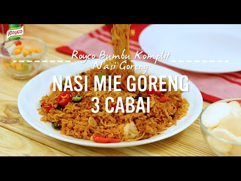 Video Resep Royco - Nasi Mie Goreng 3 Cabai