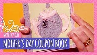 DIY Mothers Day Coupon Book - Throwback Thursday - HGTV Handmade