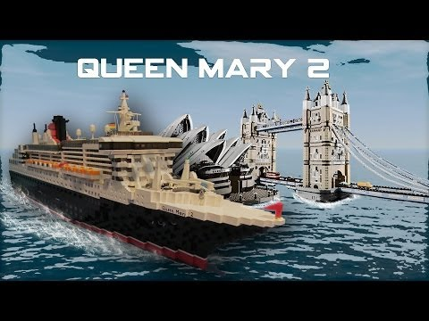 Lego Queen Mary 2