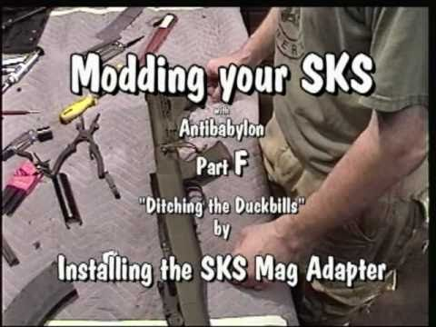 Tapco SKS mags-easy mod to make them fit - Hap-around the-house