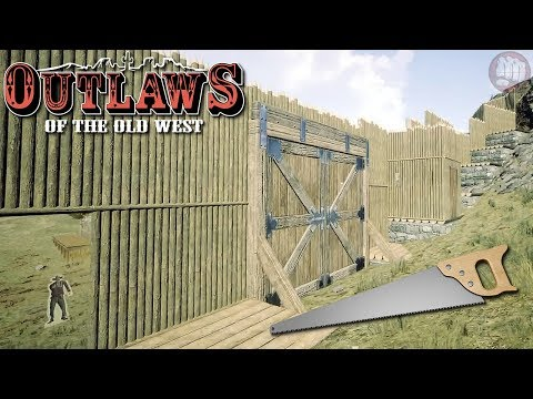 Fort Walls And Gate | Outlaws of the Old West | MP Server | S3 EP8