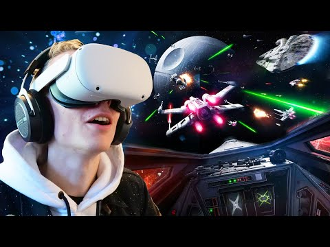 Star Wars: Squadrons In VR On The Oculus Quest 2 Is A Blast!