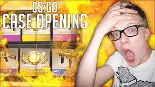 EXTREME LUCK?! BACK TO BACK KNIVES! - CS:GO Case Opening #1