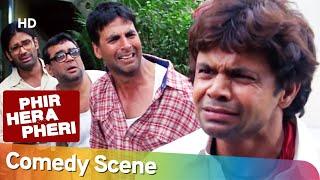 Phir Hera Pheri - Superhit Comedy Scene | Akshay Kumar - Paresh Rawal - Rajpal Yadav- Suniel Shetty