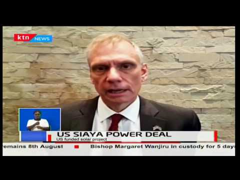 US to construct a 40 megawatt solar power plant in Siaya County to boost power generation