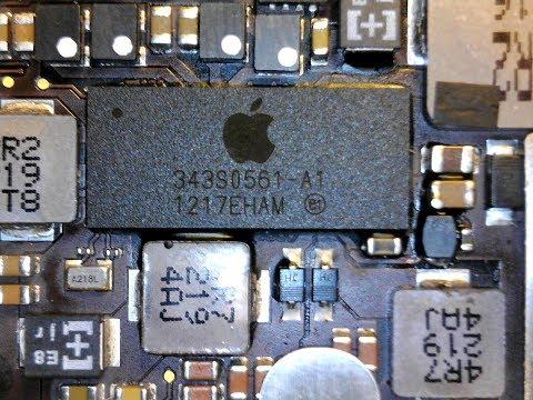Выпайка контроллера питания 343S0561-A1 на Apple iPad 3