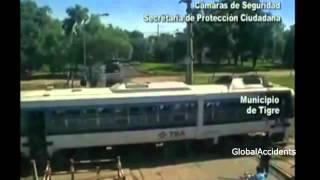 Катастрофы на железной дороге жесть полная