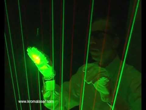"Laser Harp KROMALASER - ""Laser Harp Kromalaser"" performed by Maurizio Carelli"