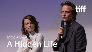 A HIDDEN LIFE Cast Q&A | TIFF 2019