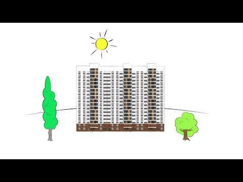 Видео Вентилируемые фасады в ЖК «ВЛЮБЕРЦЫ»