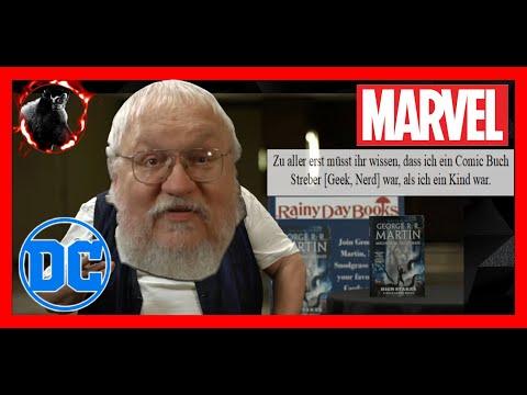 Wild Cards ► GRRM eigenes MCU | Seine Liebe zu Comics | Neue Superhelden Serie & Buch