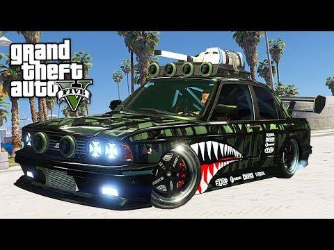 GTA 5 Online Heist DLC Update - Custom Cars & New Customizations DLC
