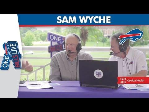 Sam Wyche joins One Bills Live