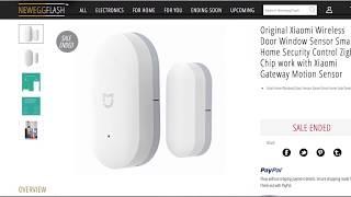 Xiaomi Door Sensors with Smartthings
