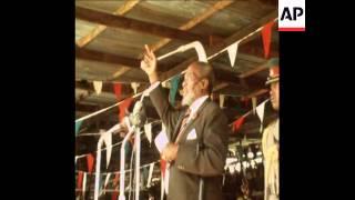 SYND 26 10 69 AN OPPOSITION RALLY AGAINST PRESIDENT KENYATTA