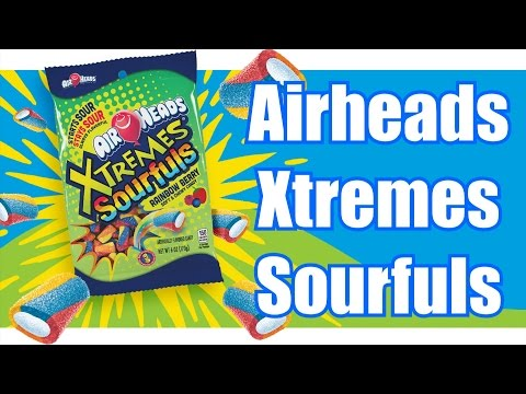 Airheads Xtremes Sourfuls Review - WE Shorts