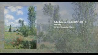 Cello Suite no. 3 in C major, BWV 1009