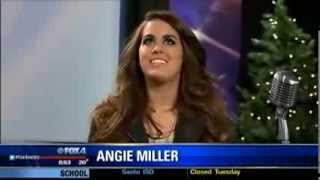 "Angie Miller performs ""This Christmas Song"" on Fox Dallas"
