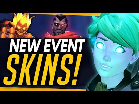 Overwatch | All New Legendary Skins, Emotes & Highlight Intros - Halloween Terror 2019