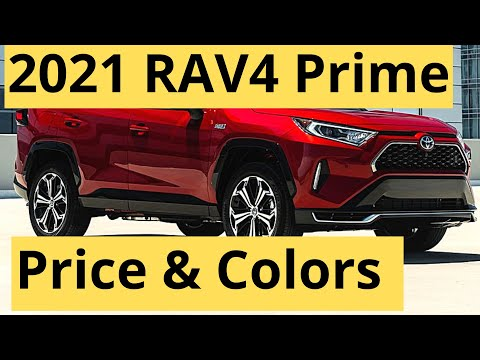 2021 Toyota RAV4 Prime Price and Colors