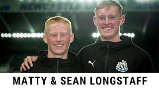 Matty & Sean Longstaff talk about their progress at Newcastle United