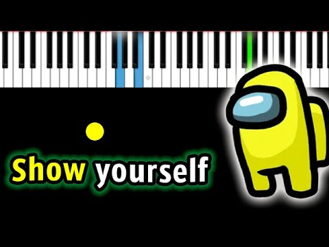 CG5 - Show yourself (Among Us) 🇺🇸 ENG VERSION 🇺🇸 | Piano_Tutorial | Разбор | КАРАОКЕ | НОТЫ + MIDI