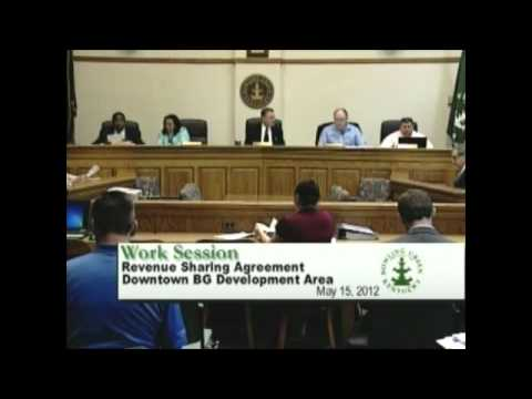 5/15/12 Board of Commissioners Work Session