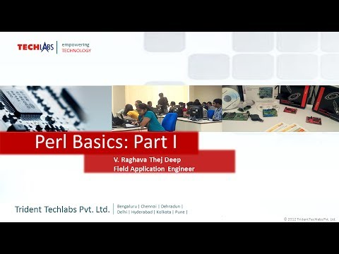 Perl Basics Programming – Part I, By: V Raghava Thej Deep