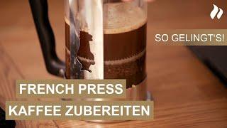 Kaffeezubereitung mit der French Press - Tipps vom Kaffee-Experten | roastmarket