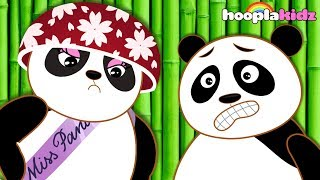 Baby Panda Bear Family | Funny Panda Song | Nursery Rhymes Collection by HooplaKidz