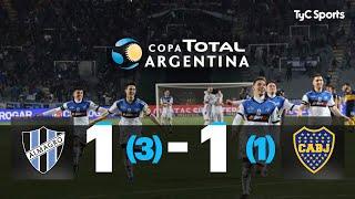 El Tricolor se clasificó a los octavos de final de la Copa Argentina al imponerse en la serie por 3 a 1, Christian Limousin se lució con dos atajadas.