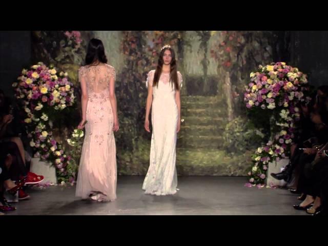 Jenny Packham 2016 Bridal Show
