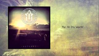 For All It's Worth - Above the Underground
