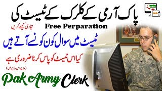 Join Pakistan Army - Preparation Of Pak Army Clerical Test With Most Using Question Of Clerk Test