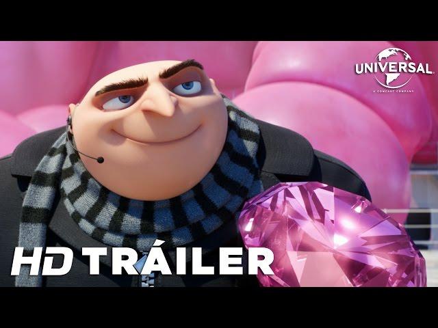 Gru 3 – Mi Villano Favorito Tráiler Oficial (Universal Pictures) HD