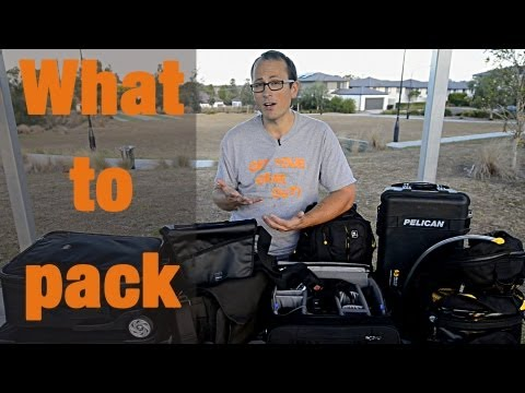 Whats in my bags - overseas assignment