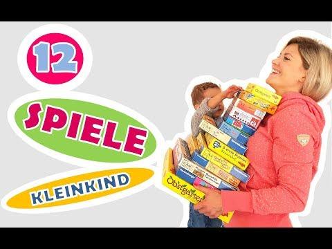 Besten Spiele für Kleinkinder | TOP 12 SPIELE | Spielzeug Kinder | Spielsachen | MamiSurvival