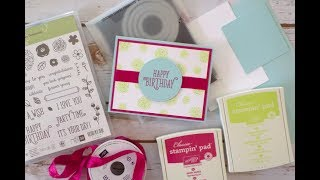 Happy Birthday Gorgeous Card | Stampin Up