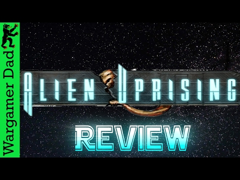 Alien Uprising Solo Play Review