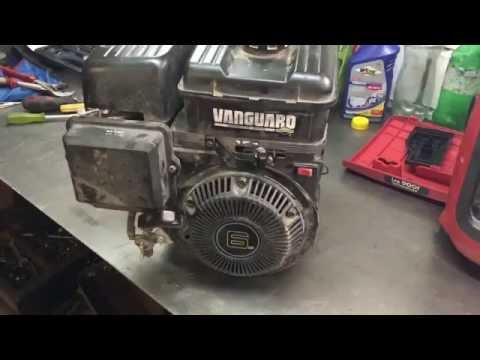 Ремонт двигателя Briggs&Stratton, следите за своим воздушным фильтром