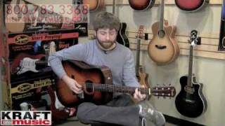 Kraft Music - Fender CD60 Acoustic Guitar Demo