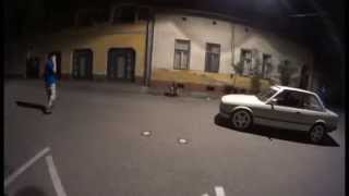 preview picture of video 'BMW E30 live in Kecskemét -Pénz&Sárm'